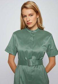 BOSS - DASHILA - Abito a camicia - light green - 3