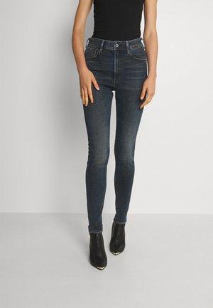 KAFEY ULTRA HIGH SKINNY - Jeans Skinny - stone blue denim