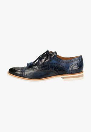 Smart lace-ups - navy/wind/sky blue