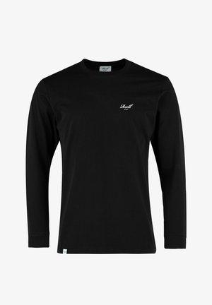 REGULAR LOGO - Long sleeved top - deep black