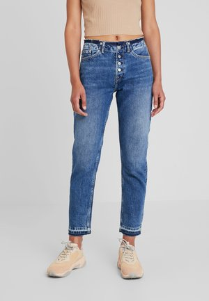 MARY REVIVE - Jeansy Relaxed Fit - denim 110z archive mid blue