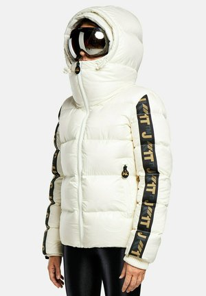 PRIMETIME RACER - Down jacket - pearl white