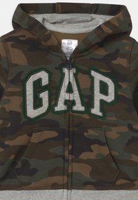 GAP - GARCH  - Zip-up hoodie - evergreen - 2