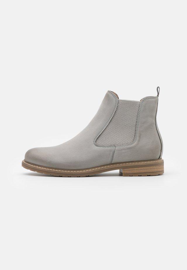 Bottines - light grey