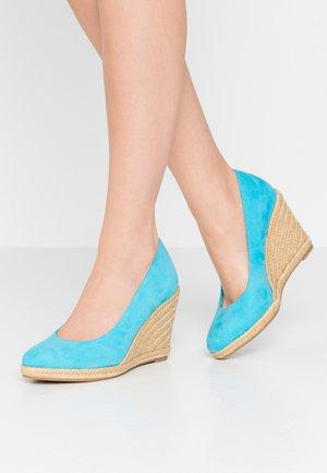 High heels - pool