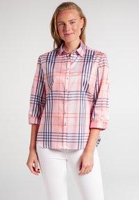 Eterna - Button-down blouse - rosa/blau - 0