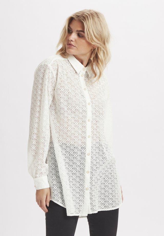 ELLEKB - Button-down blouse - egret