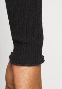 Cotton On - VIVVY TIE FRONT - Cardigan - black - 4