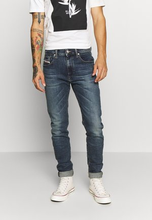 D-STRUKT - Slim fit jeans - dark blue denim