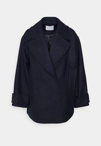 CARLY - Short coat - navy blue