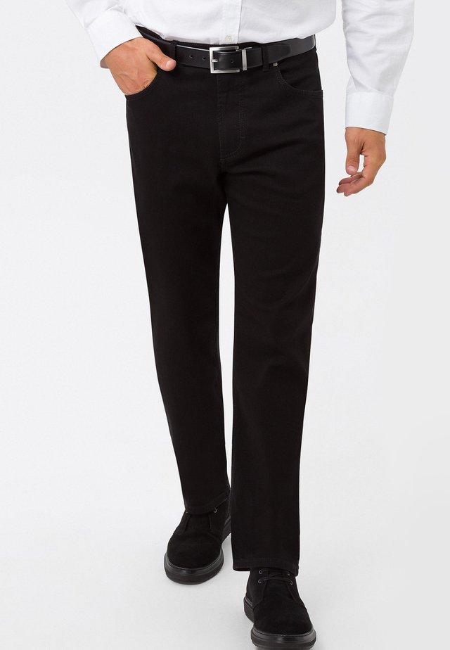 CARLOS  - Jeans a sigaretta - black black