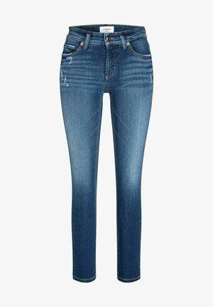 PARIS ANCLE CUT - Slim fit jeans - blue