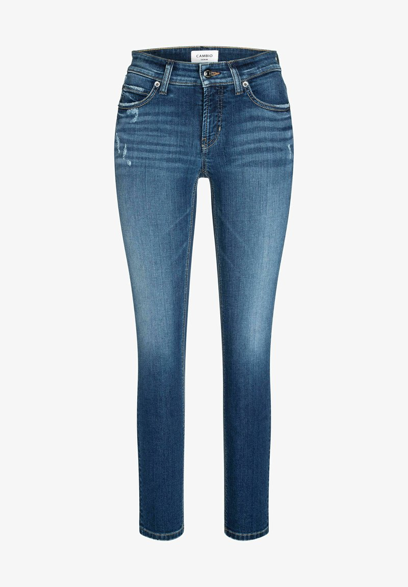 Cambio - PARIS ANCLE CUT - Slim fit jeans - blue