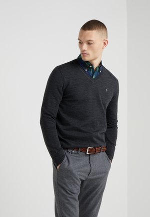 Sweter - dark granite heather