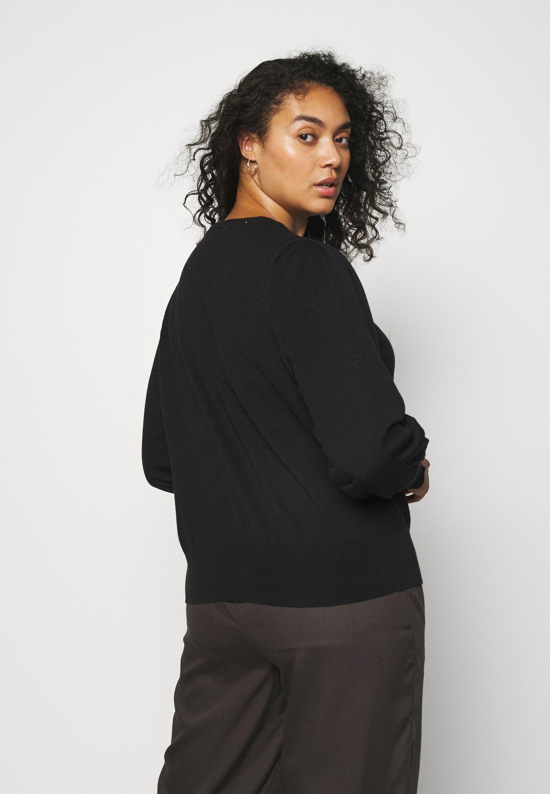 Femme SLFMANDA O-NECK CURVE - Pullover