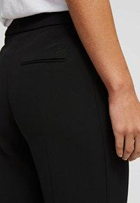 KARL LAGERFELD - Trousers - black - 4