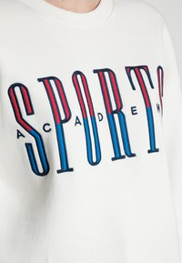 Gina Tricot - RILEY SWEATER - Sweatshirt - off-white/blue - 4