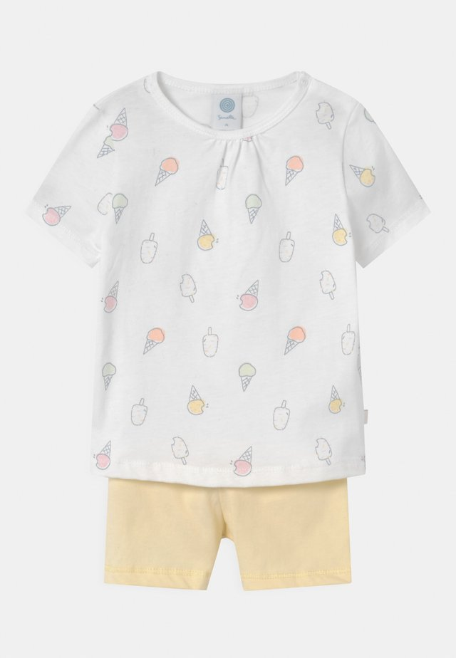 SET UNISEX - Pyjama - white pebble
