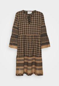 CECILIE copenhagen - ZOE DRESS - Day dress - tannin - 4
