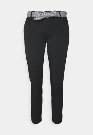 CLAUDIA FELICITA - Chinos - black