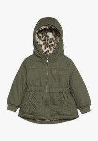 OVS - BABY PARKA JACKET - Winter jacket - dusty olive - 0
