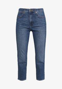 Wrangler - BOYFRIEND - Jeans relaxed fit - blue denim - 4