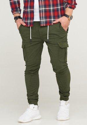 MPVEGAS - Cargo trousers - khaki