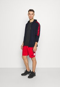 adidas Performance - Zip-up hoodie - legend ink/scarlet - 1