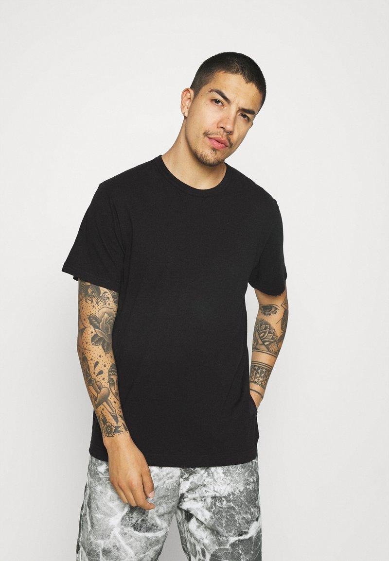 ARKET - UNI - Jednoduché triko - black