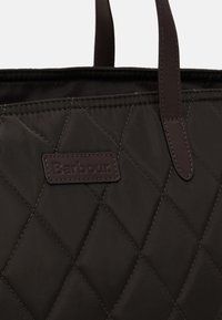 Barbour - WITFORD QUILTED TOTE SET - Tote bag - olive - 5