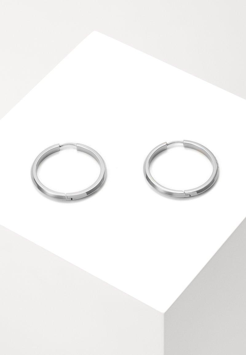 BOSS - INSIGNIA - Øredobber - silver-coloured