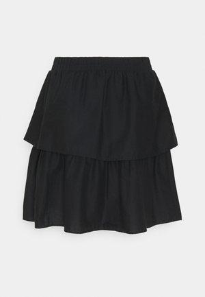 SMILLA SKIRT - A-line skirt - black