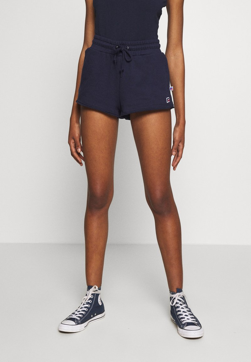 Russell Athletic Eagle R - WARRIORS - Shorts - navy