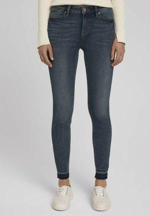 Jeans Skinny Fit - used light stone blue denim