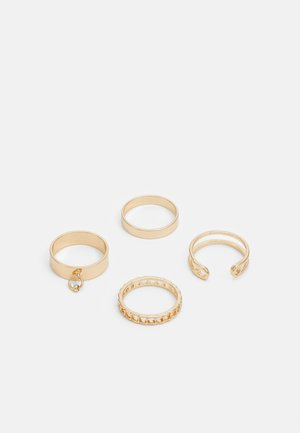 HARDWEAR 4 PACK - Ring - gold-coloured
