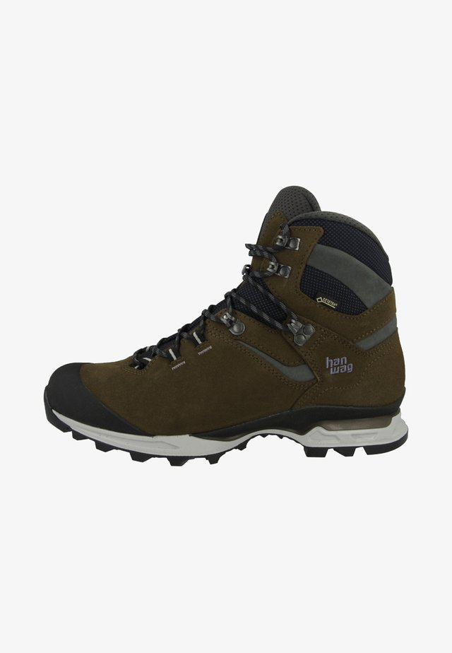 TATRA LIGHT - Hiking shoes - brown/anthracite