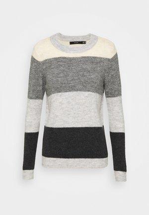 VMPLAZA BLOCK - Trui - light grey melange