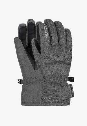 Gloves - black melange