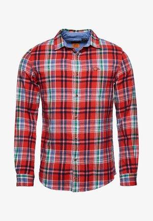 HERITAGE - Shirt - rasp red check
