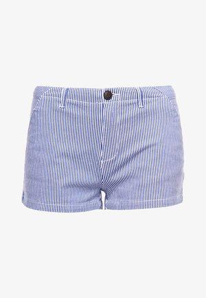 Shorts - navy stripe