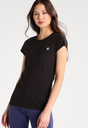 EYBEN SLIM - Basic T-shirt - black