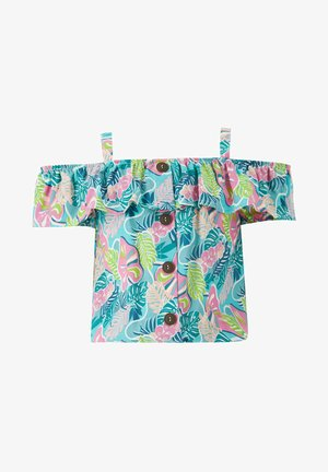 Blouse - turquoise