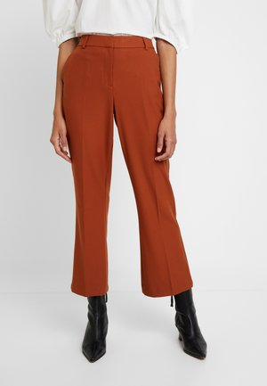 SLFADA CROPPED - Trousers - ginger bread