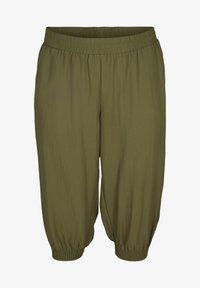 Zizzi - MIT TASCHEN - Shorts - ivy green - 1