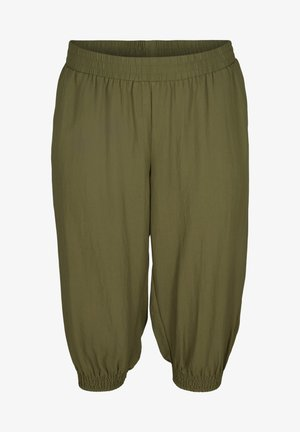 MIT TASCHEN - Shorts - ivy green