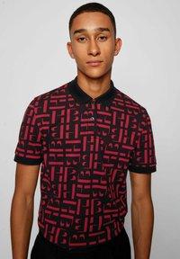 BOSS - PHILLIPSON - Print T-shirt - black - 3