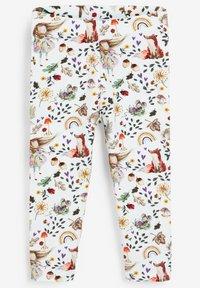 Next - 5 PACK - Leggings - Trousers - off-white - 2