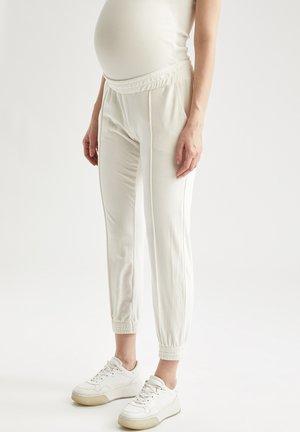 Spodnie treningowe - ecru