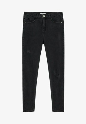 LAKE - Džíny Slim Fit - black denim