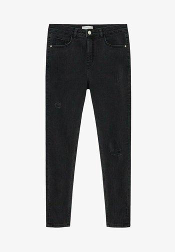 LAKE - Slim fit jeans - black denim